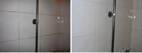Ceramic Tiled Bathroom Cleaned and Sealed in Leighton Buzzard