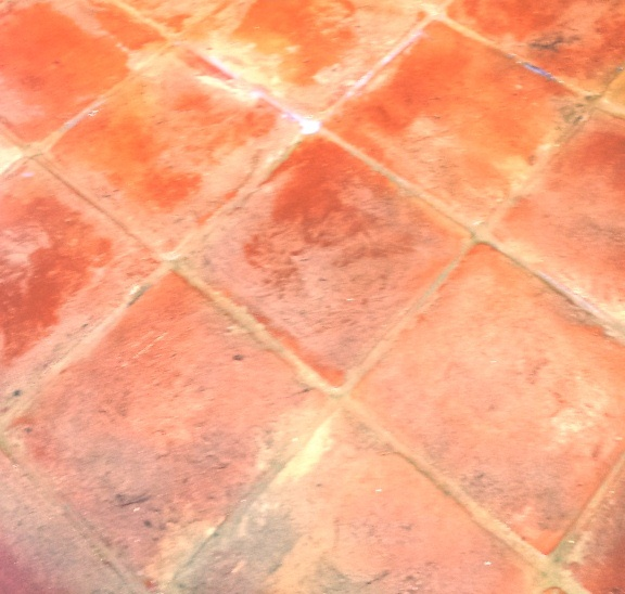 Deep Cleaning and Sealing and old Terracotta floor in Wing